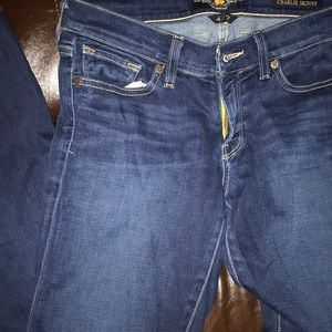 Charlie skinny size 4 lucky jeans
